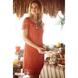 Anthropologie Moulinette Soeurs Floral Lace Dress